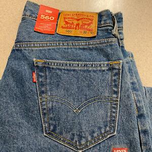 Levi's 560 NEW Men's Jeans | Size 31 x 30 Comfort Fit | W31 x L30 Stonewash