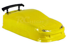 On-Road Nissan Silvia 200sx RC Drift Car Body w/decals (Yellow)