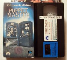 VHS: Puppet Master: Paul Le Mat Jimmie F. Scaggs Irene Miracle Full Moon horror