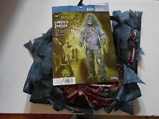 Size 8 M Complete Zombie Boys Halloween Costume Trick or Treat Prop Decoration