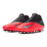 Nike Mens Phantom Vision 2 Pro DF FG Soccer Cleats Crimson CD4162-606 Size 11