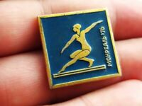 Vintage Soviet Pin Badge Olympic Games,Olympics,Montreal 1976,USSR