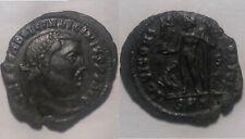 Licinius Jupiter Eagle Victory wreath Rare genuine Ancient Roman coin silvering