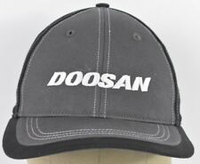 Black Doosan Portable Power Co Embroidered Baseball Hat Cap Adjustable