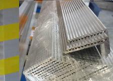 Aluminium Angle Fluted - Anti Slip Trim Stair Nosing Heavy Duty