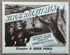 King of the Rocketmen. Lobby Card