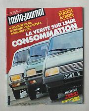 L AUTO JOURNAL - BIMENSUEL N° 8 - 1 MAI 1981 *