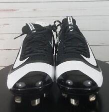 Nike BSBL Max Air Huarache Mens Baseball Cleats Size 9 Black/White 2KFilth