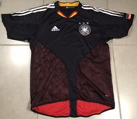 VTG Men's Adidas Germany Jersey 2004 Black Sz M Shirt Football Trikot Soccer