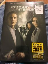 Person of Interest: The Complete First Season (DVD, 2012, 6-Disc Set)