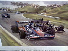 1983 Dutch Grand Prix Zandvoort (Toleman Warwick, Lotus Mansell) Michael Turner