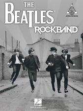 The Beatles Rock Band Sheet Music Guitar Tablature Book NEW 000691014