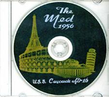 USS Cascade AD 16 1956 Cruise Book CD RARE