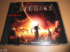 Chronicles of Riddick Cd soundtrack Graeme Revell score Ost the vin diesel movie