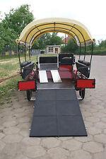 Kutsche für Rollstuhlfahrer Planwagen Freizeitkutsche Wagonette  -Manufaktur-
