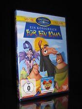 DVD WALT DISNEY - EIN KÖNIGREICH FÜR EIN LAMA 1 - SPECIAL COLLECTION *** NEU ***