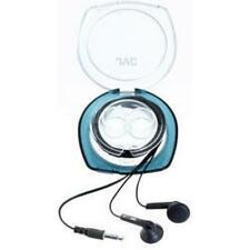 JVC HAF10C Stereo iPod MP3 Headphones with Case Black