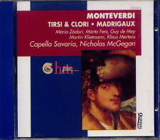 MONTEVERDI - TIRSI & CLORI MADRIGAUX - CAPELLA SAVARIA - NICHOLAS McGEGAN
