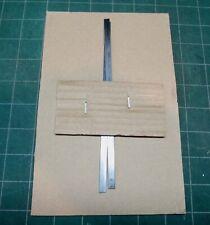 Flat spring steel for repairing antique door locksets - 2 each of 7