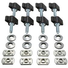 Universal Hard Top Quick Removal Fastener Nut+Screws for Jeep Wrangler YJ TJ JK
