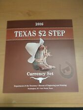 United States Bureau Of Engraving and Printing Texas $2 Step 25th Anniversary Cu