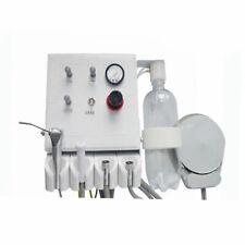 Portable Dental Turbine Unit Work w/ Air Compressor Wall Mounted Type