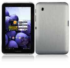 Skinomi Brushed Aluminum Cover+Screen Protector for Samsung Galaxy Tab 2 7.0