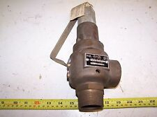 "Nos Jayco Steam Boiler Pop Off Safety Valve Engine Hit Miss Magneto 1 1/2"" Nice!"