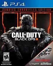 Call of Duty: Black Ops III Zombies Chronicles Edition (Sony PlayStation 4) NEW