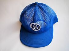 GE General Electric Full Mesh Blue Vintage Snapback Trucker Hat Cap made in USA
