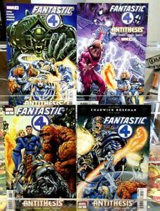 FANTASTIC FOUR Antithesis #1 #2 #3 #4 Marvel Comics FULL Complete SET Adams NM