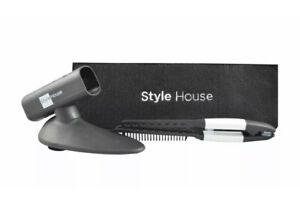 STYLE HOUSE SALON HAIR FLAT IRON Holder Folding Styling Comb Heat Resistant Case