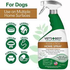 Flea and Tick Home Spray Vet's Best Flea Treatment Plant Based Formula For Dogs