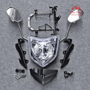 Headlight Set Fit For Yamaha FZ1N 2006-2009 Mirror Bracket mount Speedometer