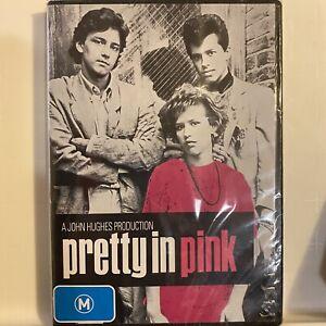 PRETTY IN PINK 1986 DVD SEALED REGION 4 Free Post John Hughes 80s Teen Classic