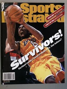 Sports Illustrated 2000 Kobe Bryant Lakers Portland NEWSSTAND MINT NO LABEL