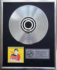 """Rage Against the Machine CD/COVER incorniciato +12"""" decorazione dorata vinile disco"""