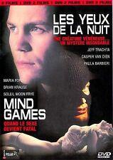 Les Yeux De La Nuit - Mind Games - 2 FILMS - 1 DVD - NEUF