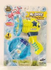 Kid Galaxy Mr. Bubble Scent Blowing Spinner Solution Blow Bubbles Dip Streams