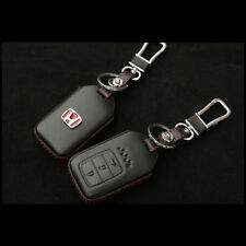 Honda City Accord Type-R 2014-2018 Keyless Remote Leather Key Cover Case