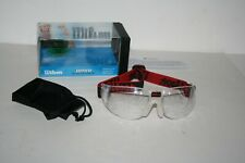 Wilson Omni Protective Eyewear Goggles Squash & Racquetball Approved Nice!