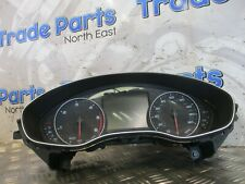 2015 AUDI A6 C7 2.0TDI SPEEDOMETER MANUAL 4G8920951A #21018