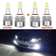 9005 9006 COB LED 6000K Bulb Head Light High&Low Beam 240W Head Lamp Combo Set K