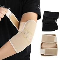 1 Pcs Sports Pad Arm Elbow Brace Guard Strap Volleyball Tennis Protector Support