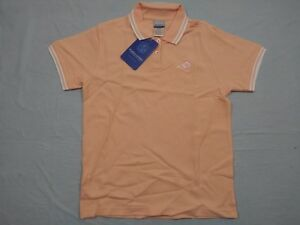 M159 New NWT REEBOK Los Angeles Rams Embroidered Peach Polo Shirt WOMEN'S Sizes