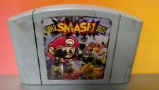 Super Smash Bros. Mario Pikachu *Authentic* - Nintendo 64 N64 Game Rare Tested