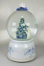 "Phalzgraff Polar Bears & Christmas Tree Musical Snow Globe ""Winter Wonderland"""