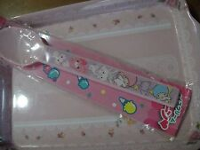 Sanrio Little Twin Stars and many sanrio stars Pink Spoon Not for sale Japan