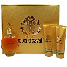 ROBERTO CAVALI 3PC GIFT SET EAU DE PARFUM NATURAL SPRAY 75 ML (NIB-777038)
