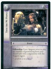 Lord Of The Rings CCG Card BohD 5.R41 These Are My People